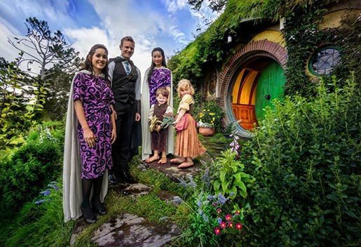 Air New Zealand Hobbiton photo