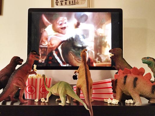 Dinosaur Movie Night