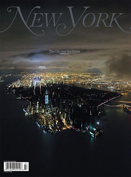 New York Magazine Hurricane Sandy cover