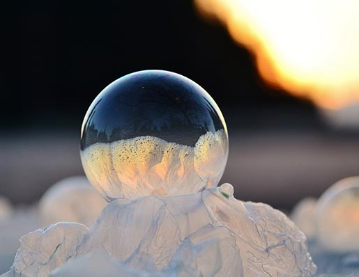 Frozen in a bubble - On High by Angela Kelly