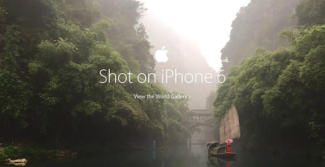 Shot on an iPhone 6 - View the World Gallery