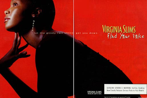 Virginia Slims Power of My Voice ad