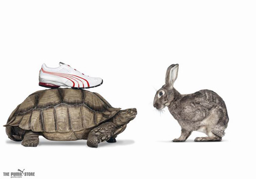 Puma Tortoise and Hare in TV Ad