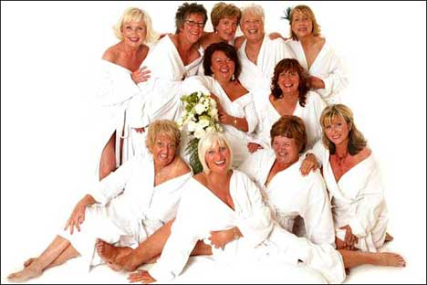 Breast cancer survivors pose for Derry calendar