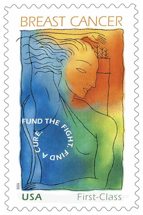 Breast Cancer Research Stamp