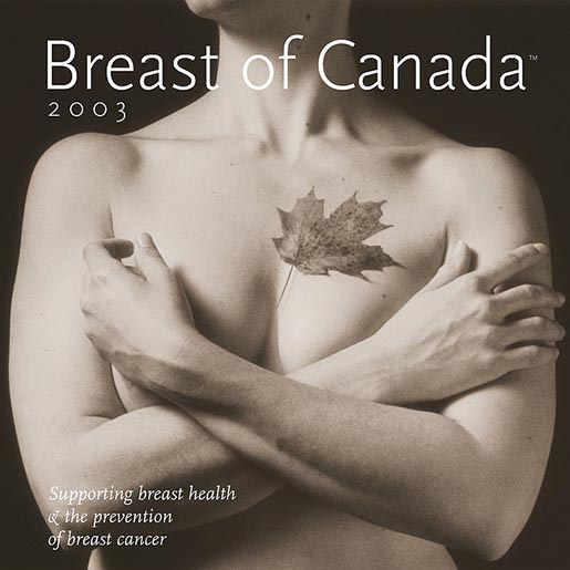 Breast of Calendar 2003 Cover