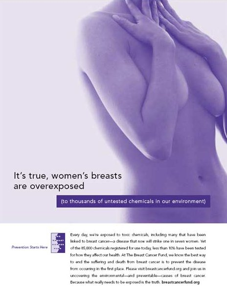 Breasts Overexposed Campaign Poster