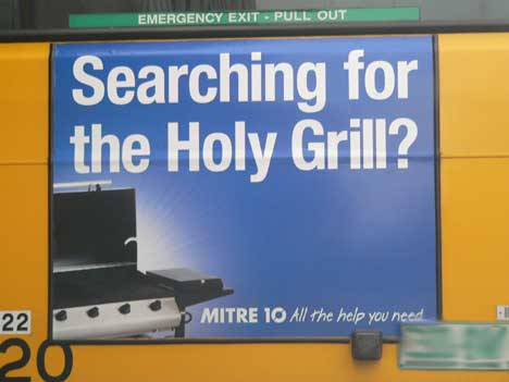 Looking for the Holy Grill