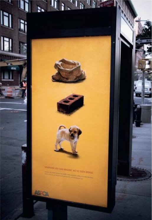 ASPCA outdoor advertisement