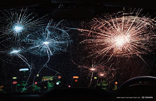 Toyota - Drive Safely This New Year's Eve