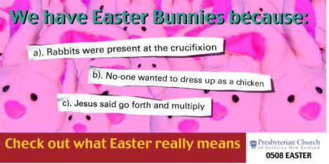 Easter Bunnies Billboard