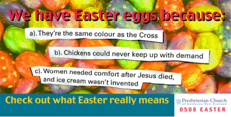 Easter Eggs Billboard