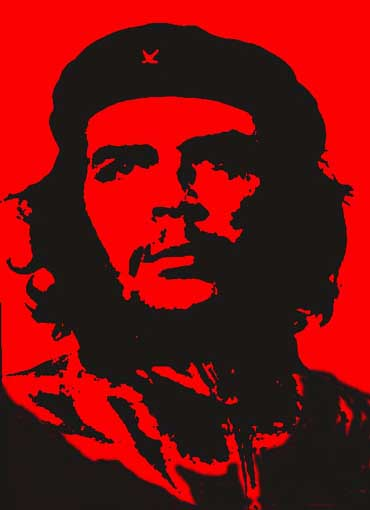 Red Che Guevara Portrait