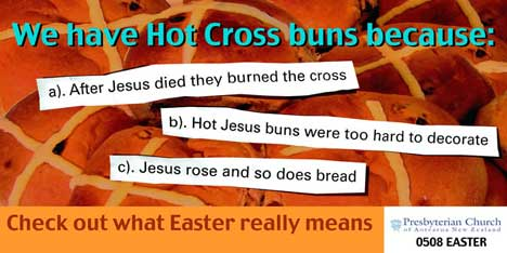 Hot Cross Buns Billboard