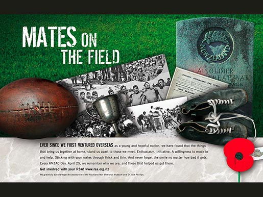 RSA Mates on the Field Print Ad