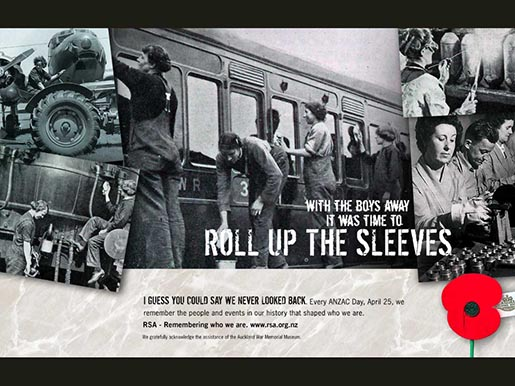 RSA Roll Up the Sleeves Print Ad