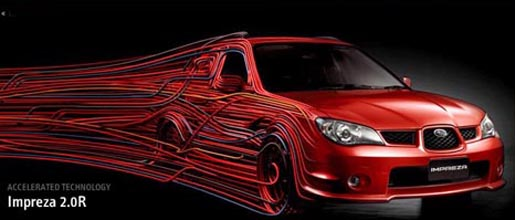 Subaru Impreza Accelerated Technology