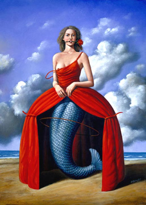 Mermaid by Olbinski