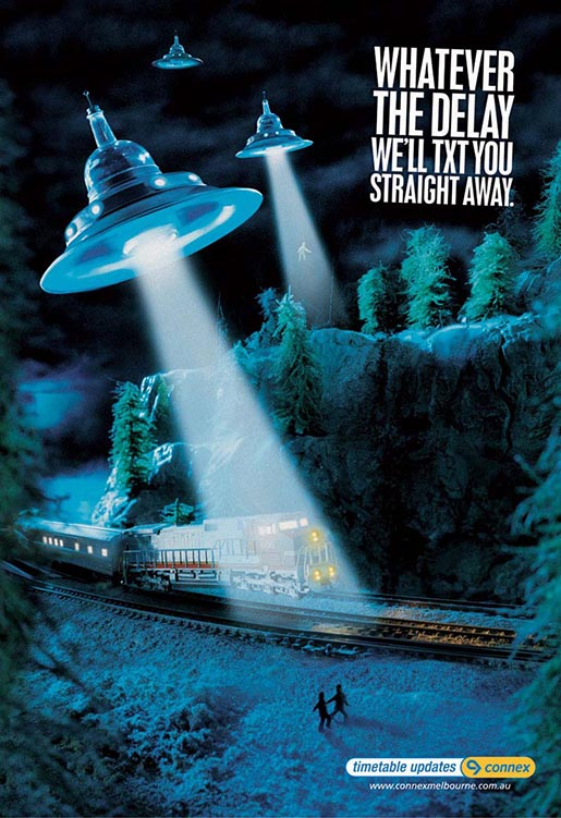 Spaceships in Connex Poster