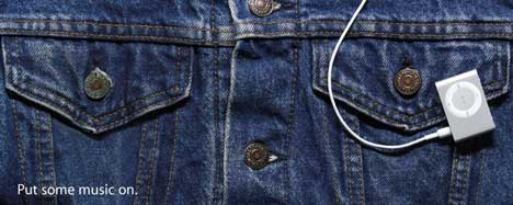 iPod Shuffle with Jeans
