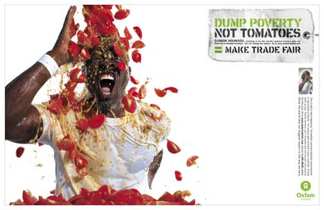 Dump poverty not tomatoes