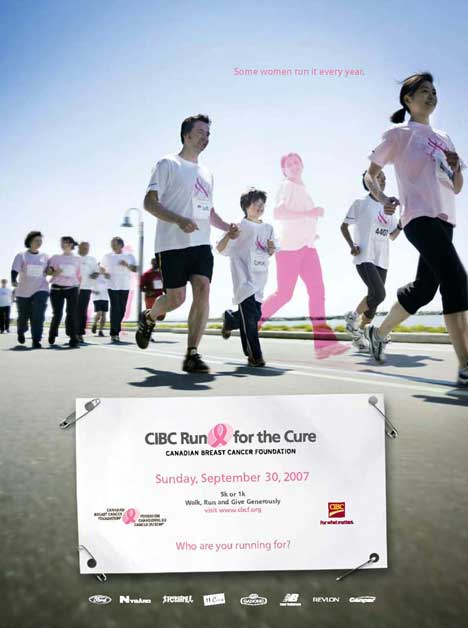 A family runs together in spirit at CIBC run for the cure