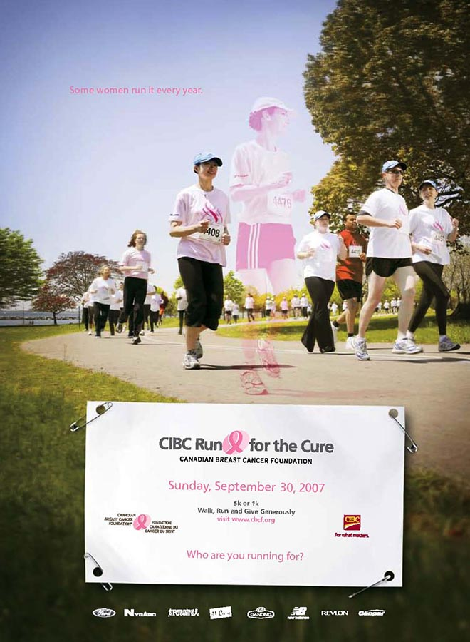 Coworkers run together in spirit at CIBC run for the cure