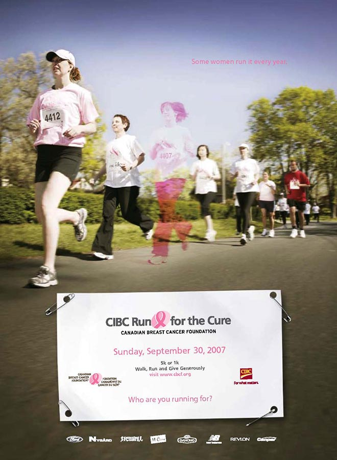 Mother and daughter run together in spirit at CIBC run for the cure