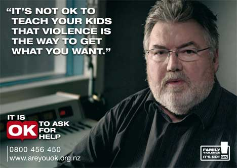Phil Gifford in Domestic Violence poster