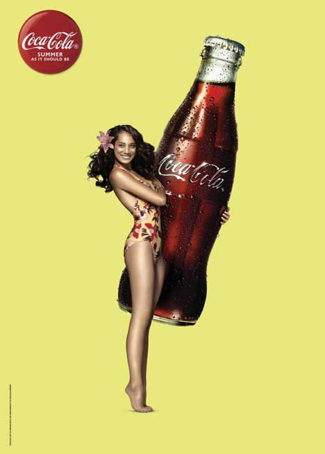 Coca Cola Summer Girl