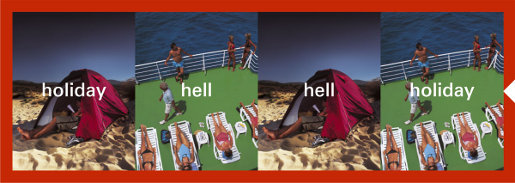HSBC online ad - hell or holiday?