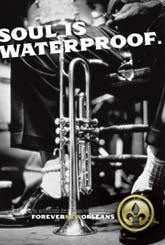 Soul is waterproof in New Orleans
