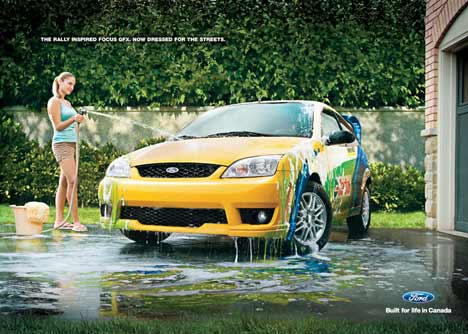 Ford Focus Carwash