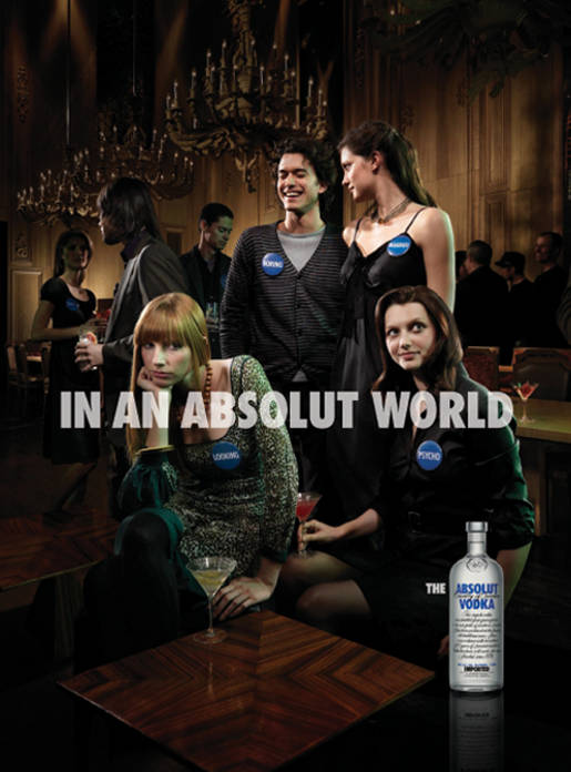 Party Badges In An Absolut World