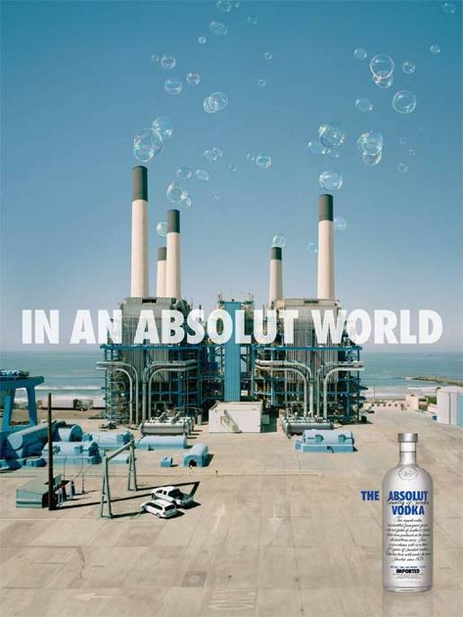 Factory Bubbles Absolut World