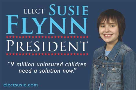 Elect Susie Flynn campaign sign