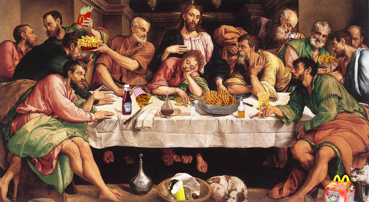 Last Supper In Advertising The Inspiration Room