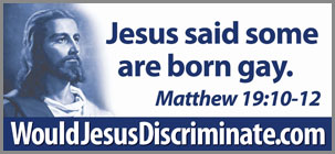 Jesus said some are born gay