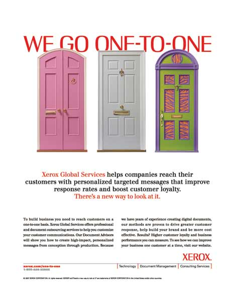 Xerox - We Go One To One