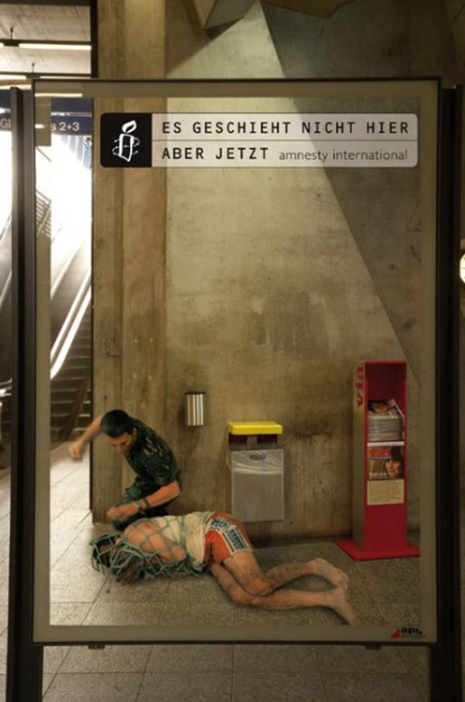 Amnesty Iraq Berne Poster German