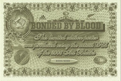 All Blacks Bonded By Blood poster