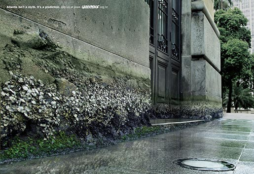Greenpeace Atlantis print advertisement
