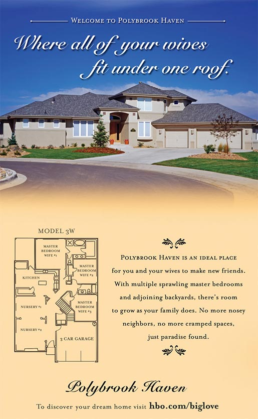 Polybrook Haven print ad