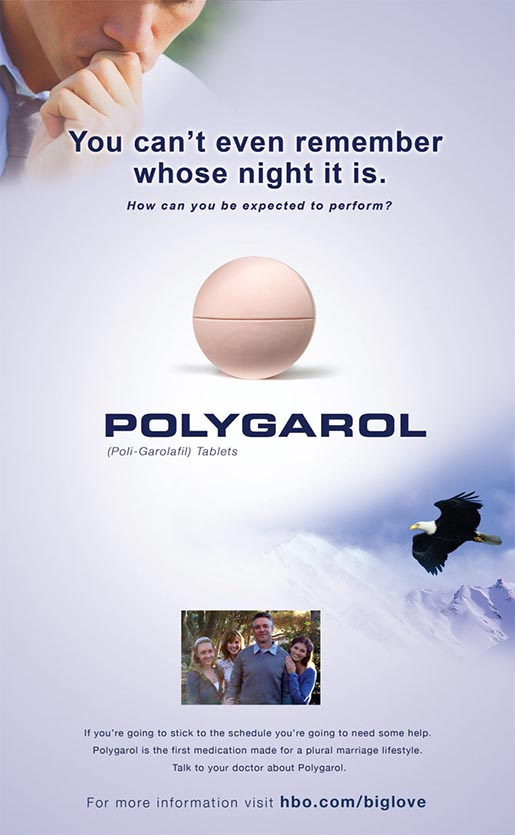 Polygarol Big Love print ad