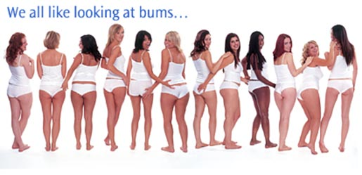 We All like looking at bums