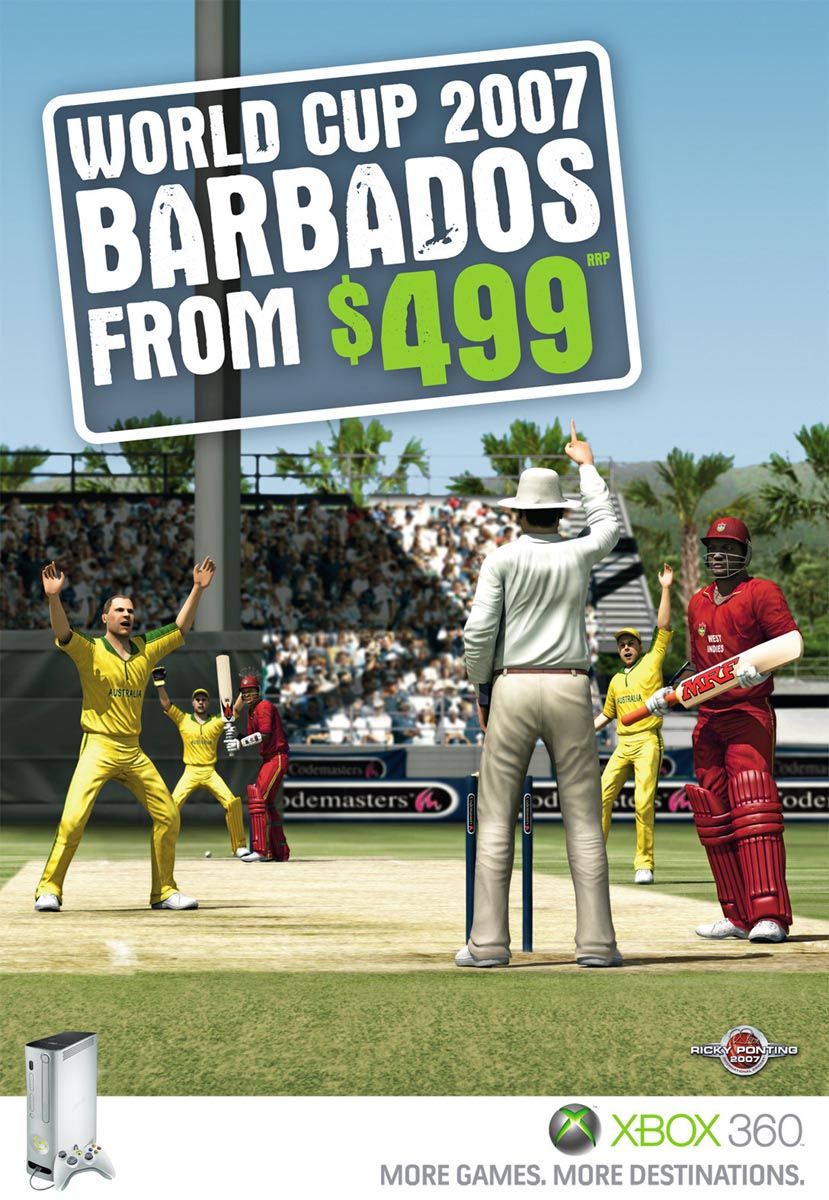 XBox Cricket in Barbados