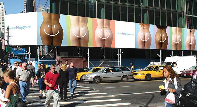 Washlet Bottoms Billboard