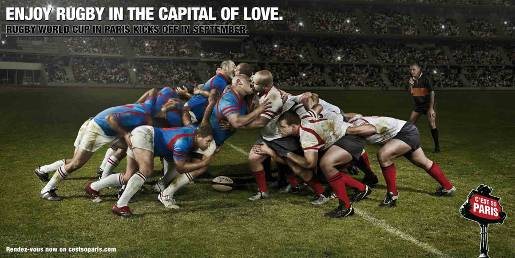 Enjoy Rugby Kiss