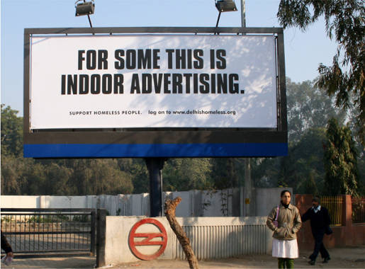 For some this is indoor advertising