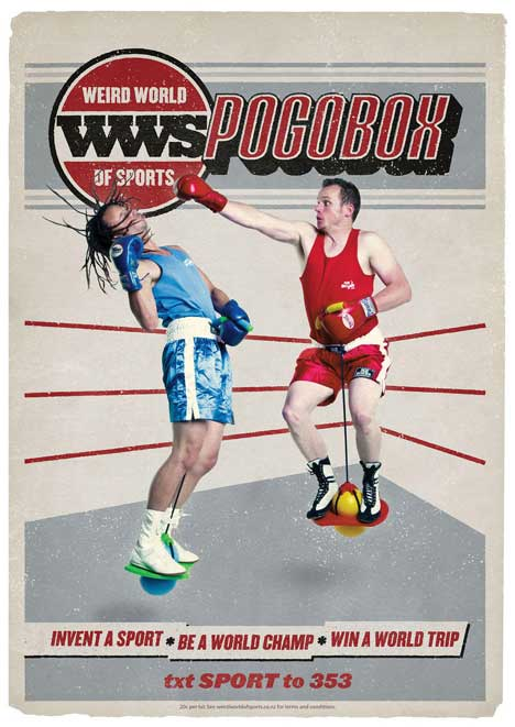Pogoboxing in Weird World of Sports